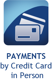Payments by Credit Card in Person